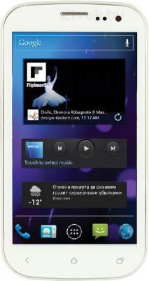 Смартфон Ritmix RMP-470 (White) - общий вид