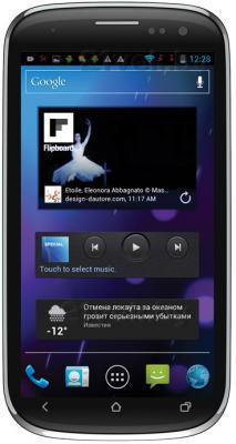 Смартфон Ritmix RMP-470 (Black) - общий вид