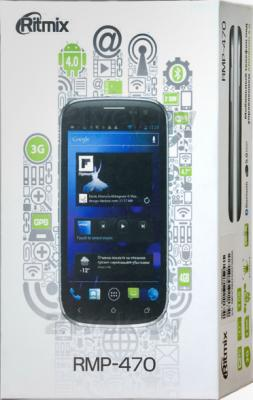 Смартфон Ritmix RMP-470 (Black) - упаковка