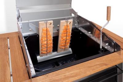 Гриль-барбекю Lappigrill LG-ST - набор для «томления» рыбы на огне