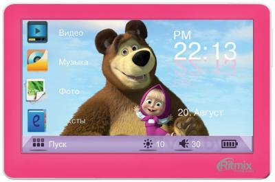 MP3-плеер Ritmix RP-450M HD (4Gb, розовый) - общий вид