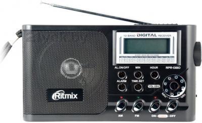 Радиоприемник Ritmix RPR-1380 (черный) - общий вид