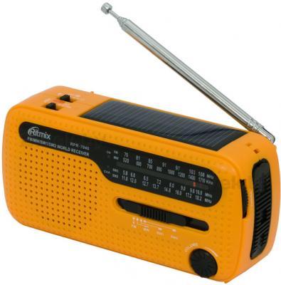 Радиоприемник Ritmix RPR-7040 (оранжевый) - общий вид