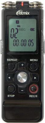 Цифровой диктофон Ritmix RR-850 (2GB, черный) - общий вид