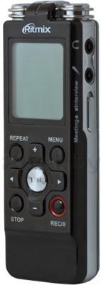 Цифровой диктофон Ritmix RR-850 (4GB, черный) - полубоком