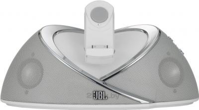 Мультимедийная док-станция JBL OnBeat (White) - общий вид