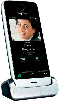 Беспроводной телефон Gigaset SL910A (Steel Gray) - общий вид
