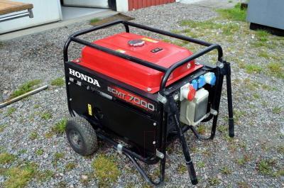 Бензиновый генератор Honda ECMT7000-K1GV