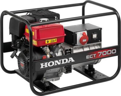 Бензиновый генератор Honda ECT7000-K1GV - общий вид