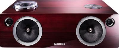 Портативная колонка Samsung DA-E750 (Wood) - вид спереди