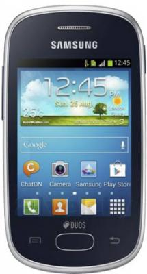 Смартфон Samsung S5312 Galaxy Pocket Neo Duos (Blue-Black) - общий вид