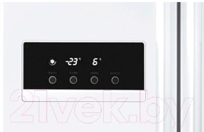 Холодильник с морозильником LG GC-B207GVQV