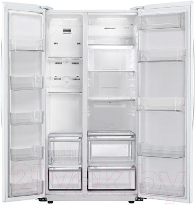 Холодильник с морозильником LG GC-B207GVQV - внутренний вид