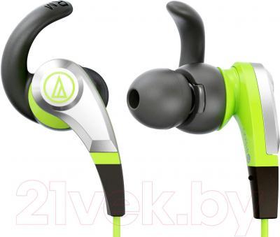 Наушники Audio-Technica ATH-CKX5 (зеленый) - общий вид