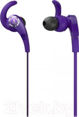 Наушники Audio-Technica ATH-CKX7 (фиолетовый) - общий вид