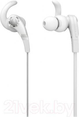 Наушники Audio-Technica ATH-CKX7 (белый) - общий вид
