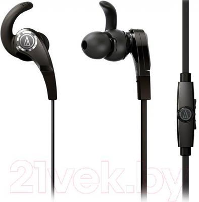 Наушники-гарнитура Audio-Technica ATH-CKX7iS (черный) - общий вид