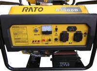 Бензиновый генератор Rato R3000D -