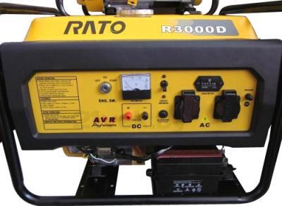 Бензиновый генератор Rato R3000D - общий вид