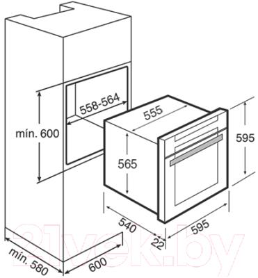 Электрический духовой шкаф Teka HL 870