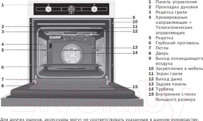 Электрический духовой шкаф Teka HL 850