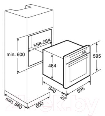 Электрический духовой шкаф Teka HL 845