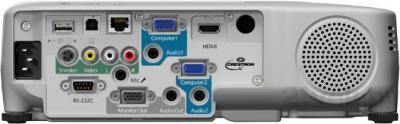 Проектор Epson EB-955W - вид сзади