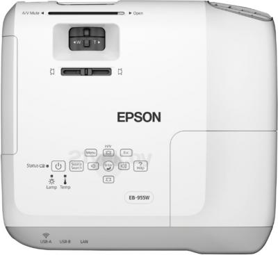 Проектор Epson EB-955W - вид сверху