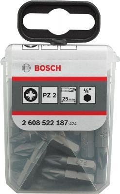 Набор оснастки Bosch Extra Hard 2.608.522.187 (25 предметов) - общий вид