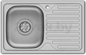Мойка кухонная Asil AS28 (0.4mm, right) - общий вид