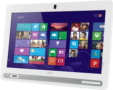 Моноблок Acer Aspire ZC-602 (DQ.STGME.002) - общий вид