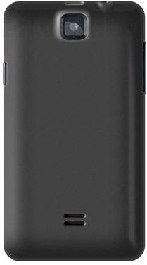 Смартфон Explay Solo (Black) - задняя панель