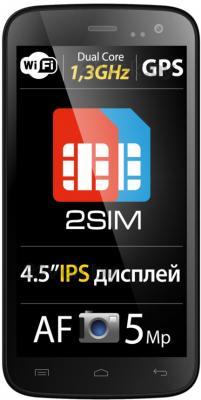 Смартфон Explay Golf (Black) - общий вид