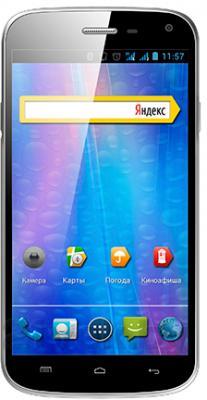 Смартфон Explay A500 (Black) - общий вид