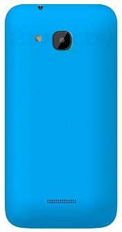 Смартфон Explay X5 - голубая задняя панель