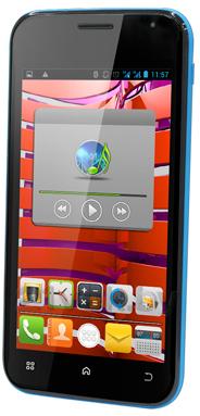 Смартфон Explay X5 - полубоком