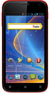 Смартфон Explay X5 - общий вид