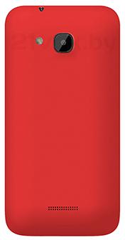 Смартфон Explay X5 - красная задняя панель