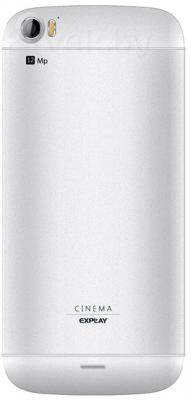 Смартфон Explay Cinema (White) - задняя панель