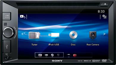 Автомагнитола Sony XAV-65 - общий вид
