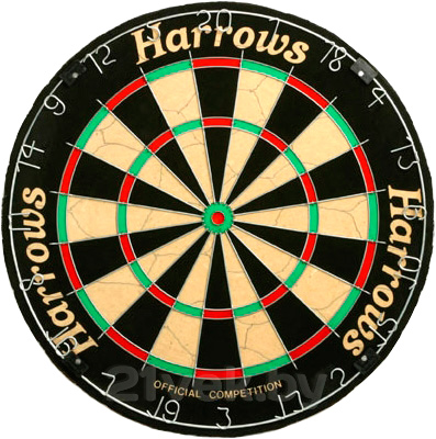 Дартс Harrows Official Competition Board EA308 - общий вид