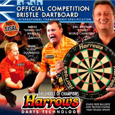 Дартс Harrows Official Competition Board EA308 - коробка