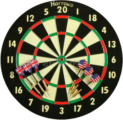 Дартс Harrows Bristow Family Dart Game Board EA304 - общий вид
