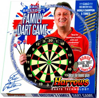 Дартс Harrows Bristow Family Dart Game Board EA304 - коробка