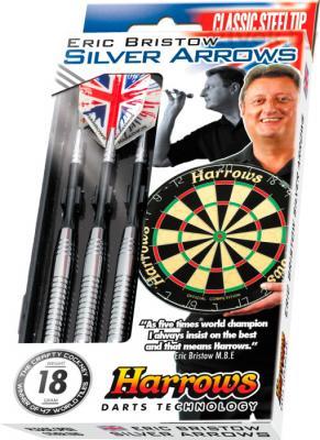 Дротики для дартса Harrows Silver Arrows 22gR - аналог 3x18g