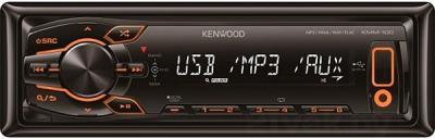 Автомагнитола Kenwood KMM-100AY - общий вид
