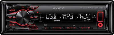 Автомагнитола Kenwood KMM-100RY - общий вид