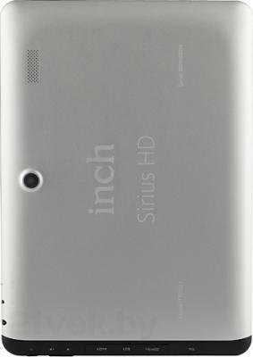 Планшет Inch irius HD 16GB (ITW1001) - вид сзади