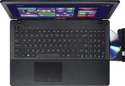 Ноутбук Asus X552EA-SX005D - вид сверху