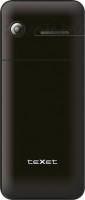Мобильный телефон TeXet TM-222D (Black) - задняя панель